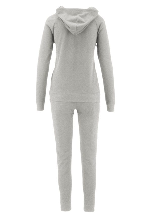 French Terry Hoodie and Jogger Pants Sweatsuit Set