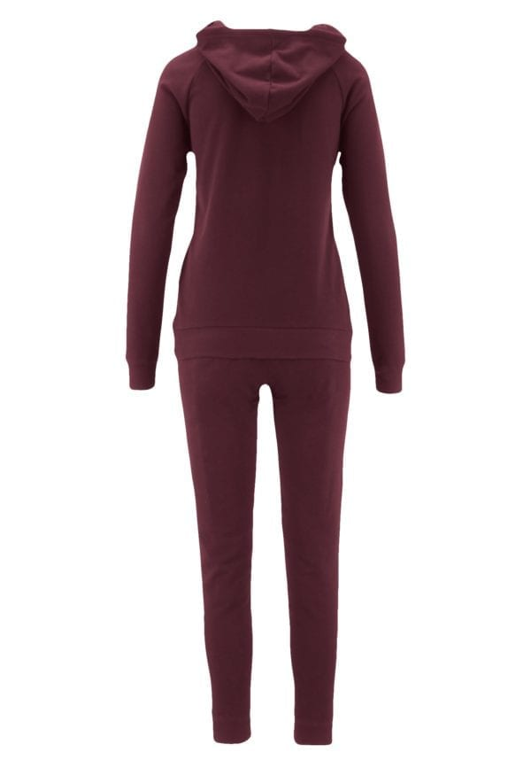 French Terry Hoodie and Jogger Pants Sweatsuit Set (Plus)