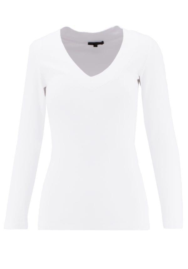 V-Neck Long Sleeve Basic Top (Variety Pack)