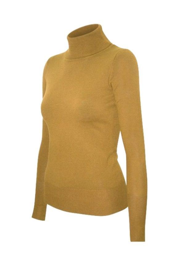 Premium Turtle-Neck Soft Pullover Sweater