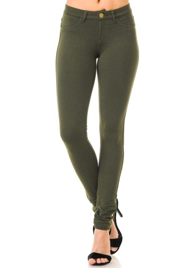Basic Brazilian Moleton Skinny Pants (Plus)
