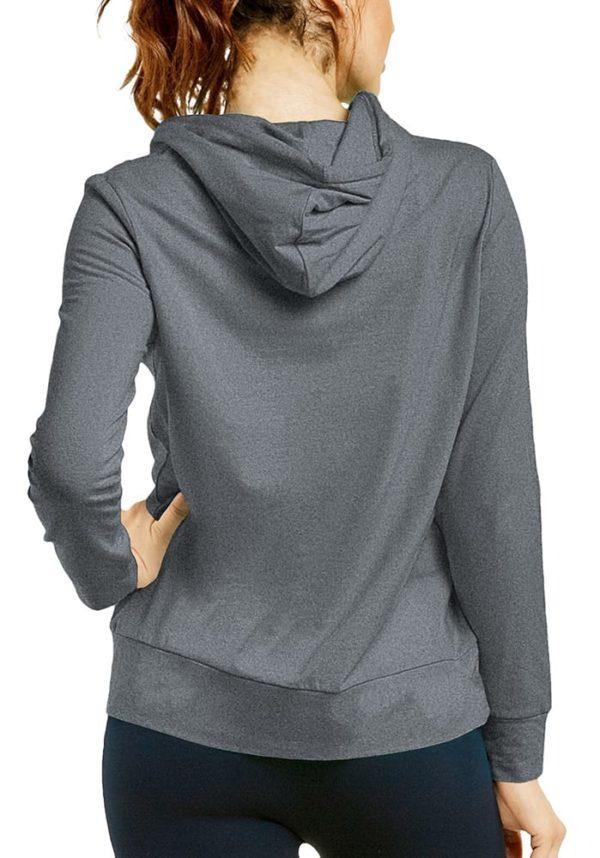 Lightweight Long Sleeve Pullover Hoodie Jacket