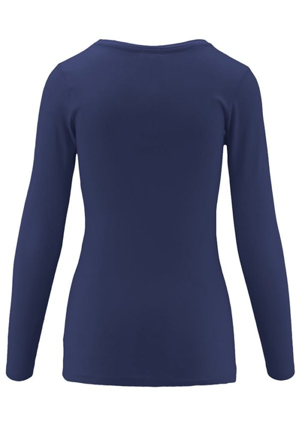 Long Sleeve Crew Neck Base Layer T-Shirt (Plus)