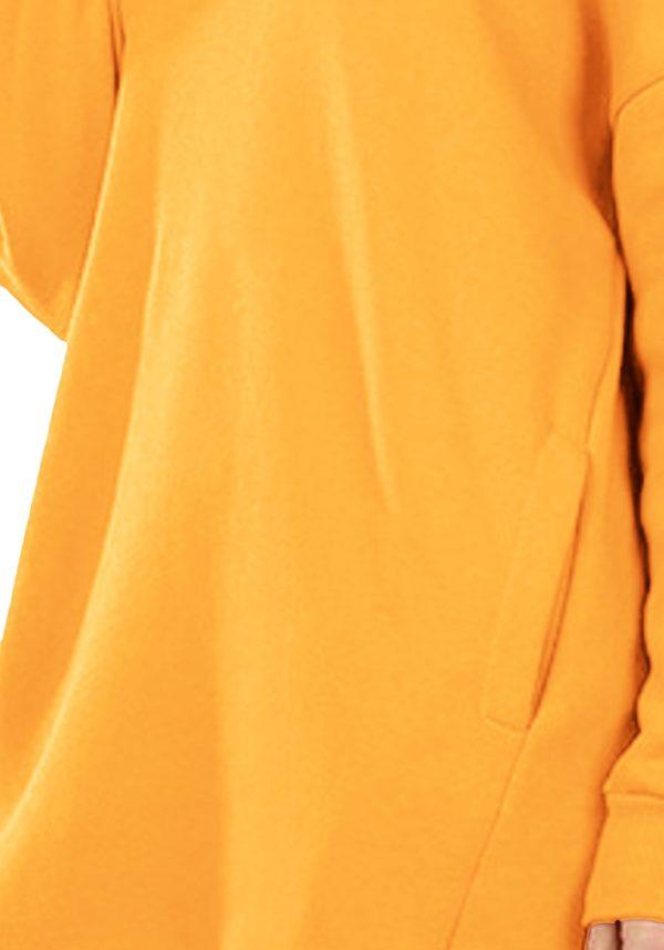 Oversized Round Neck Sweatshirt (Plus)