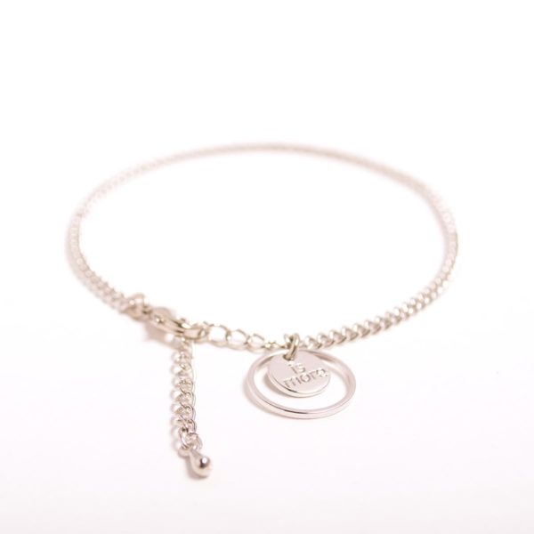 Single Chain Anklet