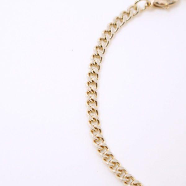 Gold Unbalanced Chain Bracelet