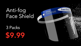 Face Shield (3 Pack)