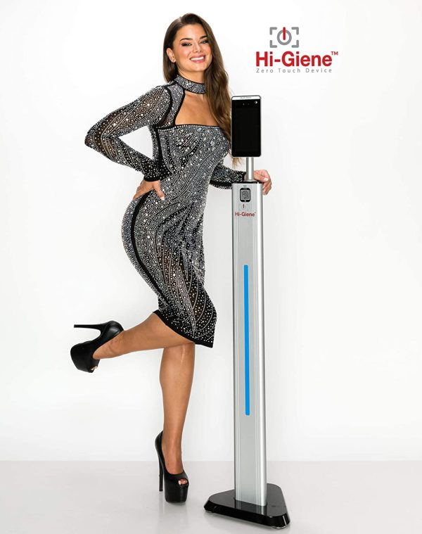 HI-GIENE Contactless Thermometer Kiosk