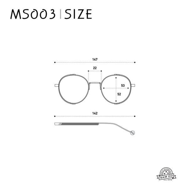 MS003 BK MC
