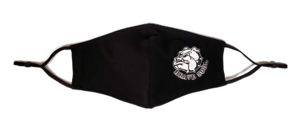 Embroidery Mask, Fashion Mask, Face Masks, Fabric Mask Washable Cotton Mask (Bulldog)