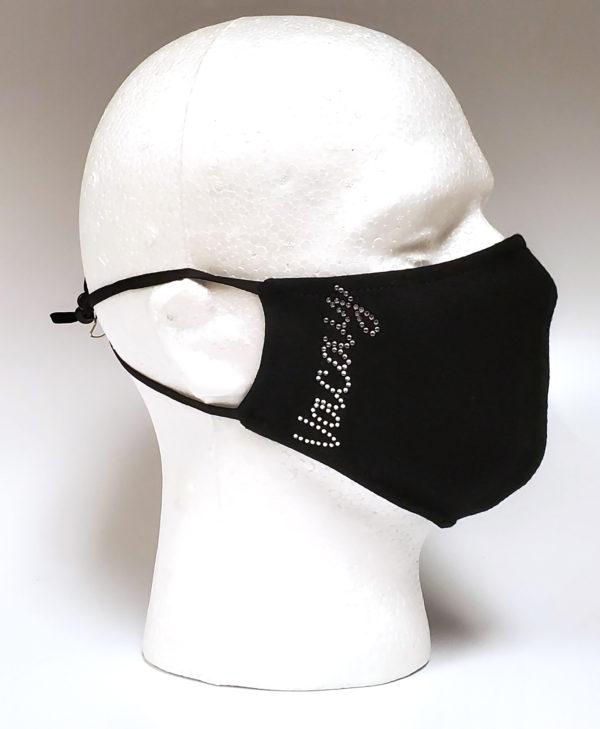 Rhinestone Mask, Fashion Mask, Face Masks, Fabric Mask Washable Cotton Mask (Palm Tree)