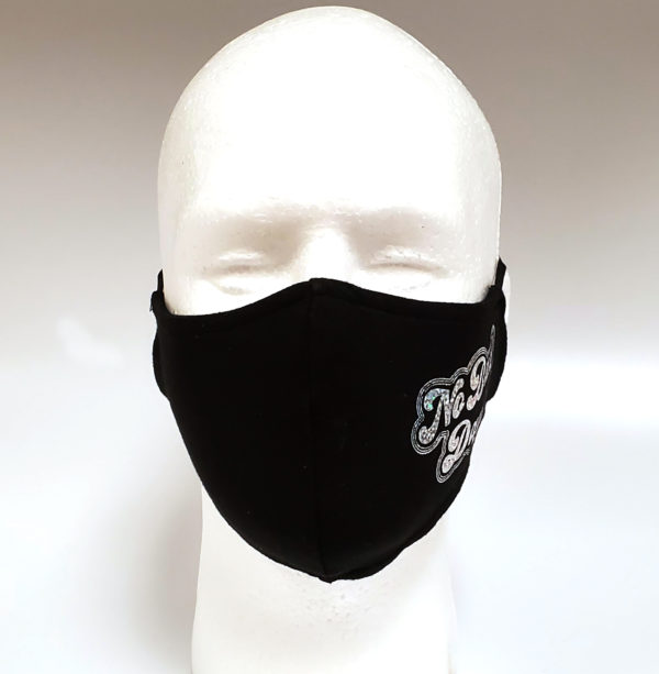 Foil Printing Mask, Hologram Mask, Fashion Mask, Face Masks, Fabric Mask Washable Cotton Mask (NO Bad Days)