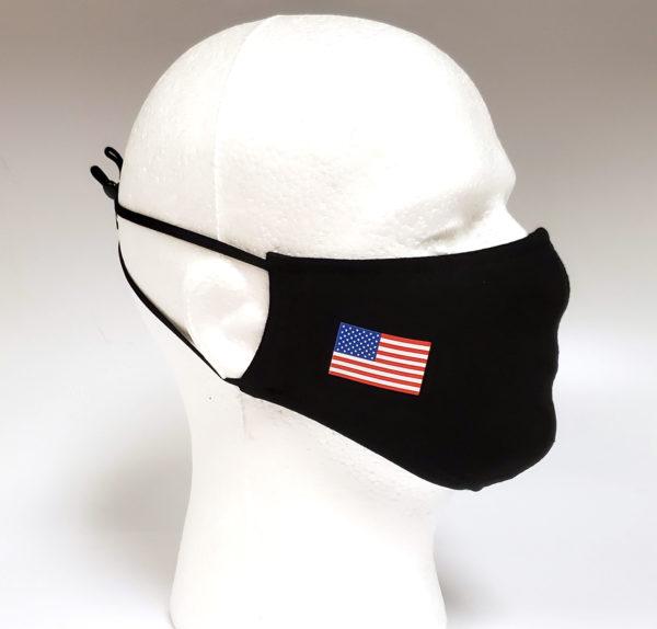 Printing Mask, Gold Mask, Fashion Mask, Face Masks, Fabric Mask Washable Cotton Mask (California Republic)