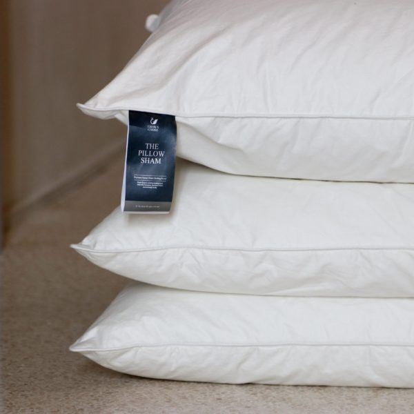 Crown Goose European Down Pillow Shams - 3pcs Set