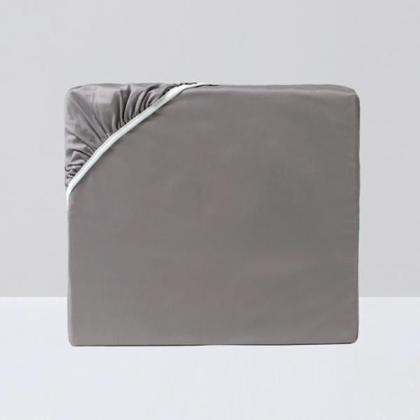 Crown Goose Fitted Sheet - Gray