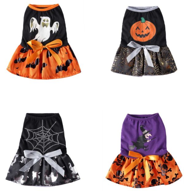 2020 Pet Dog Clothes Halloween Cosplay Costume Cartoon Princess Dress For Small And Medium Dogs Chihuahua Clothes