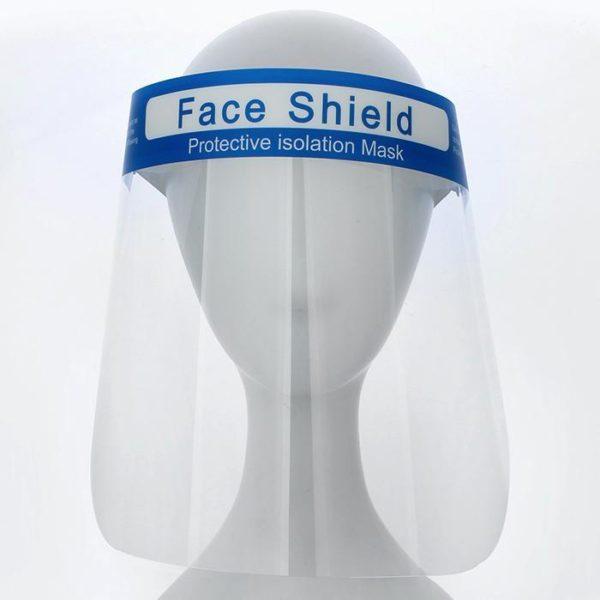 Face Shield Protective Isolation Mask 2 Pcs