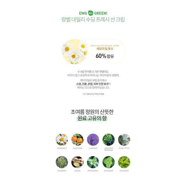 [NEW] LANBELLE Natural Fresh Up Sunscreen SPF 50+ P++++ - 70ml