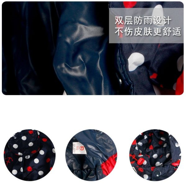 On Sale Clearance Small Dog Raincoat Waterproof Little Puppies Animal Hooded Pet Clothes Four Legs Rain Jacket Apparel
