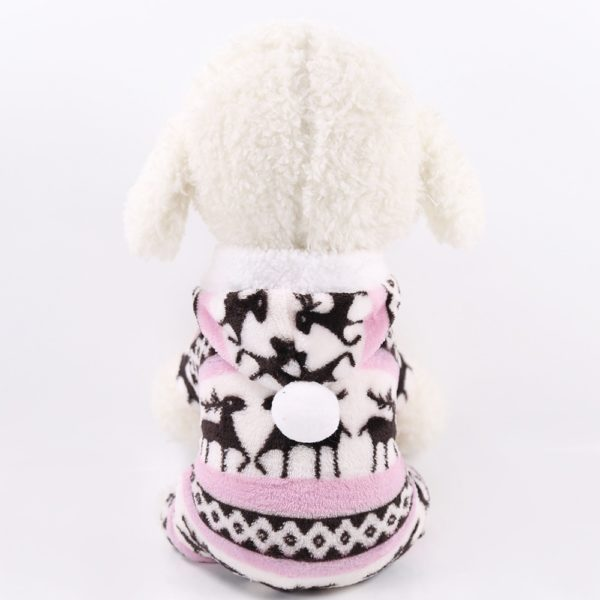 Soft Warm Fleece Dog Clothes Costume Yorkshire Chihuahua Small Pet Dog Coat