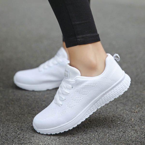Shoes Woman Sneakers Casual Platform Trainers Women Shoe White Tenis Feminino Zapatos de Mujer Zapatillas Womens Sneaker Basket