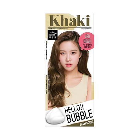 [Mise En Scene] Hello Bubble Foamy Creamy Bubble Hair Dye Color Dying Kit