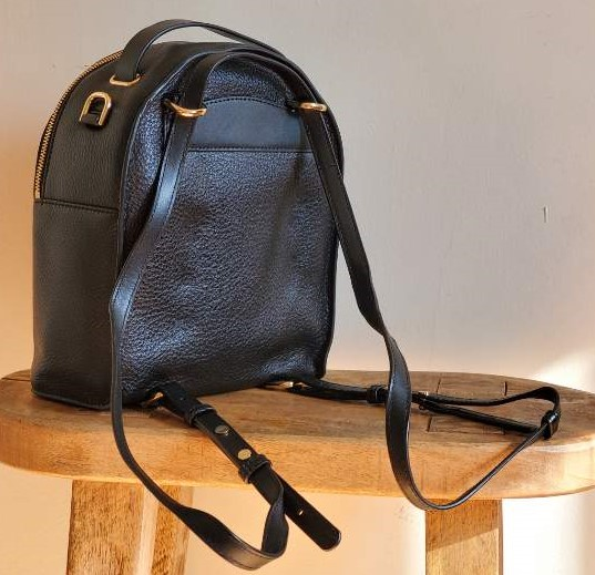 Michael Kors Jessa Small Convertible Leather Backpack
