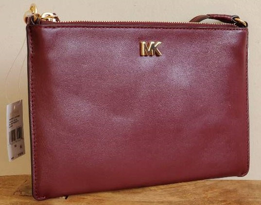 Michael Kors Medium Convertible Leather Pouch