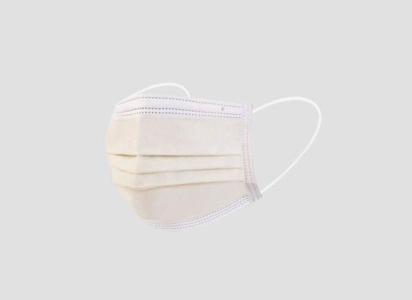 Disposable Color Masks (Blue, Black, Pink, Beige, Grey) Individual Packing (50 Pcs/Box)