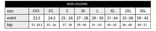 Jean Red and Black Sugar Skulls Leggings