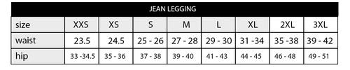 Jean Holiday Skulls Leggings