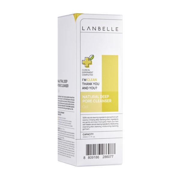 LANBELLE Natural Deep Pore Cleanser - 210ml