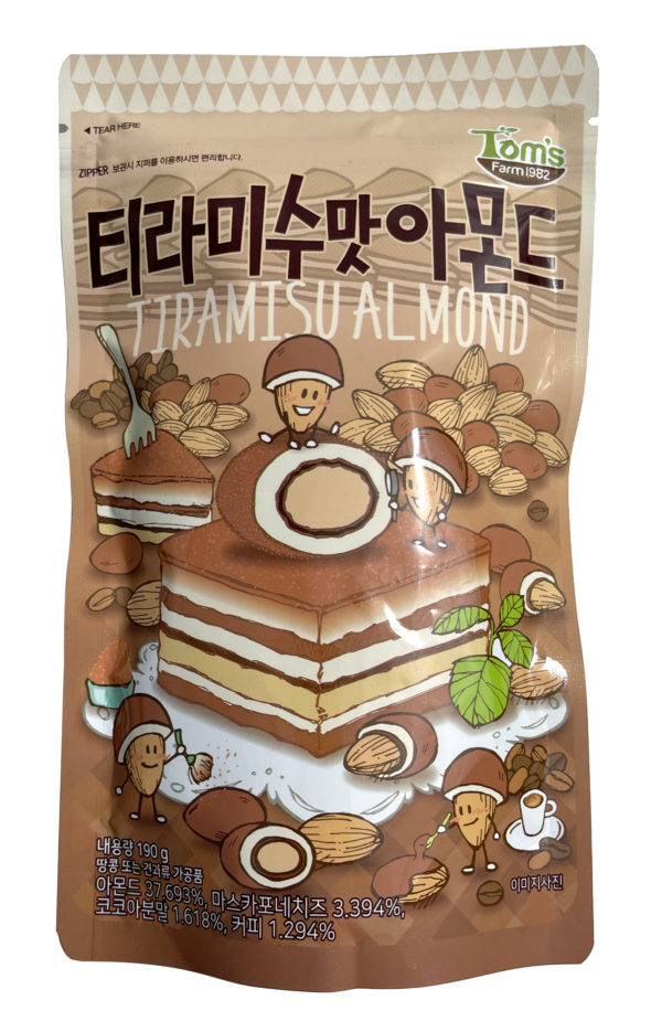 HBAF Korean Seasoned Almond Snack