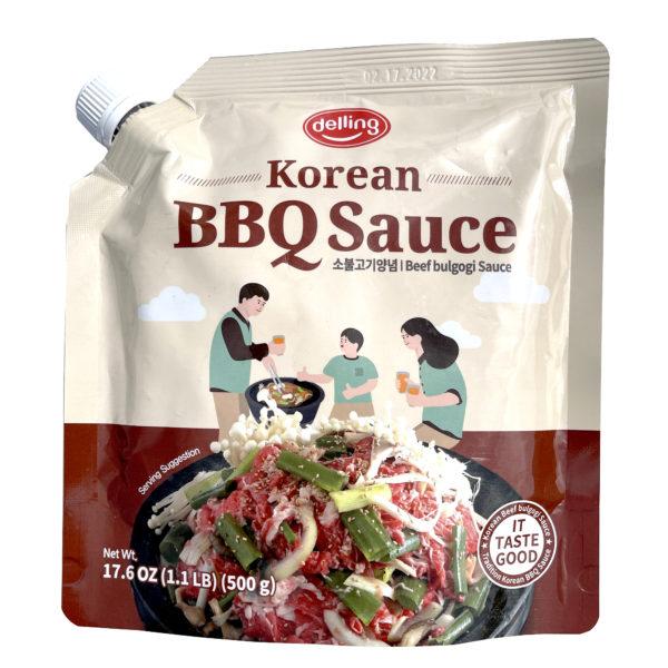 DELLING Beef Bulgogi Sauce 소 불고기 양념 소스 - 500g