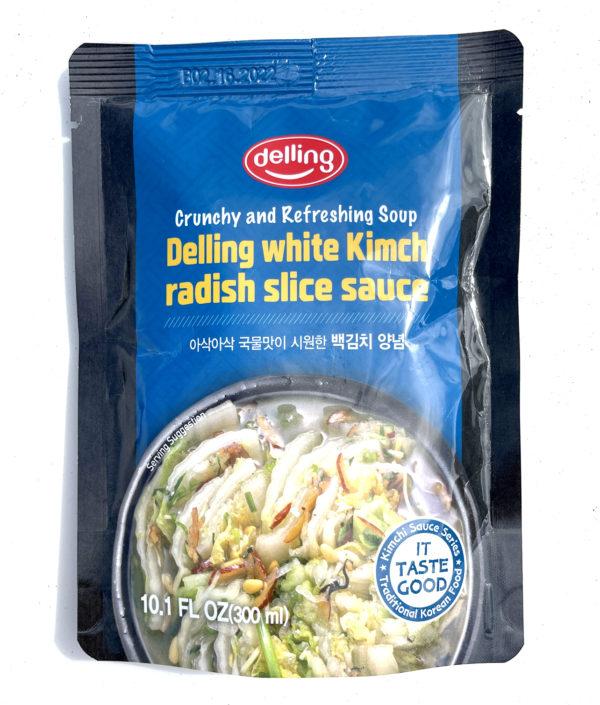 DELLING White Kimchi Radish Slice Sauce 백김치 양념